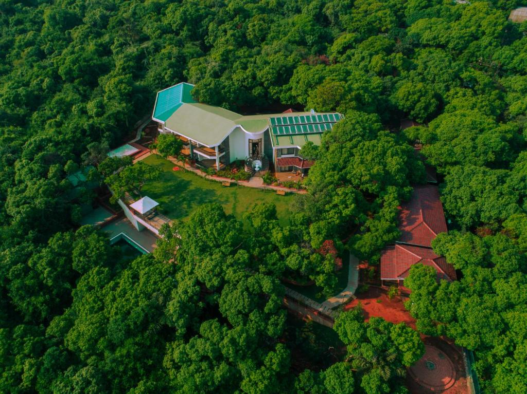 A bird's-eye view of Tranquil Resort & Spa