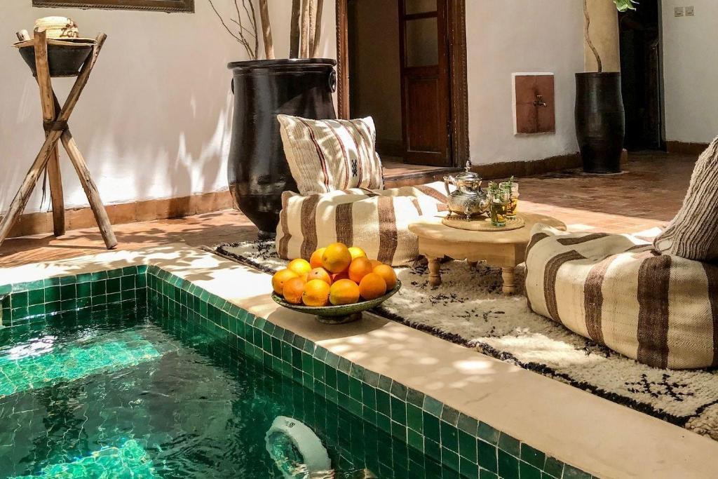 The swimming pool at or near Riad Dar Zaman