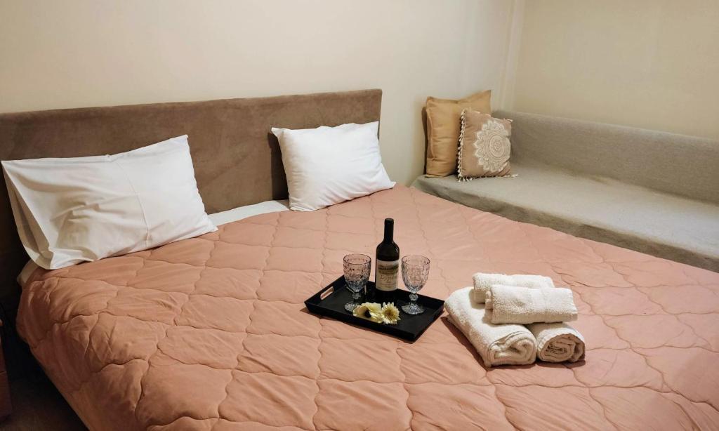 Cama o camas de una habitación en Hotel King