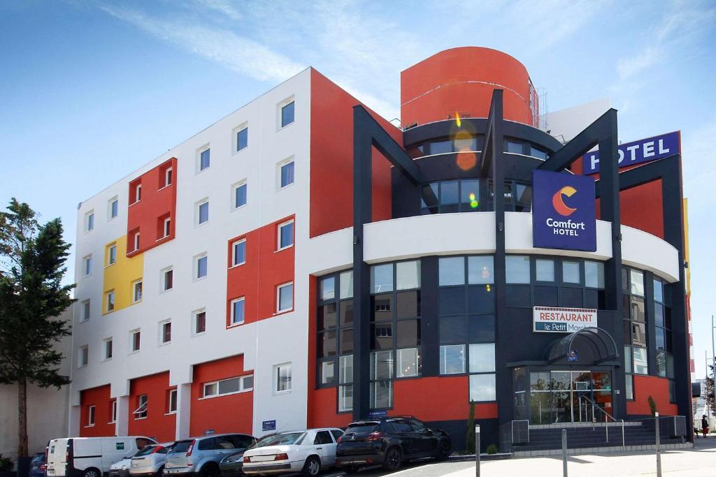Comfort Hotel Clermont Saint-Jacques - Laterooms