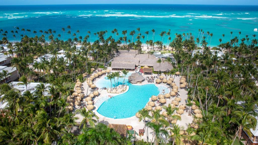 Grand Palladium Palace Resort Spa & Casino - All Inclusive a vista de pájaro