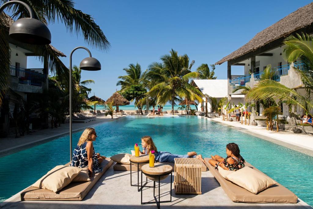 "The swimming pool at or near Casa Beach Hotel ""Casa Del Mar"""