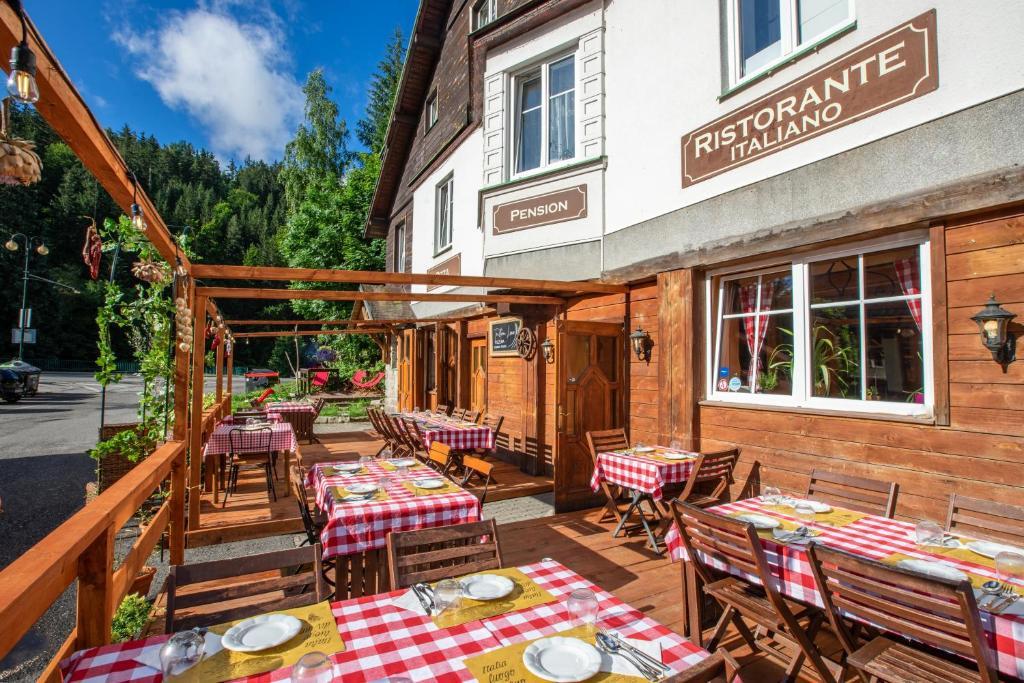 Restaurace v ubytování Penzion Sofinata & Trattoria Lucio Špindlerův Mlýn