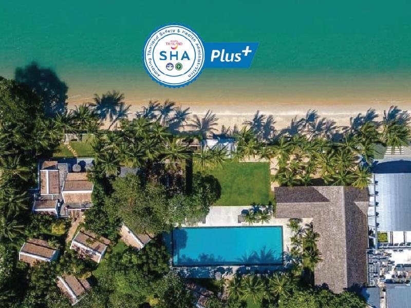 A bird's-eye view of Samui Palm Beach Resort - SHA Plus