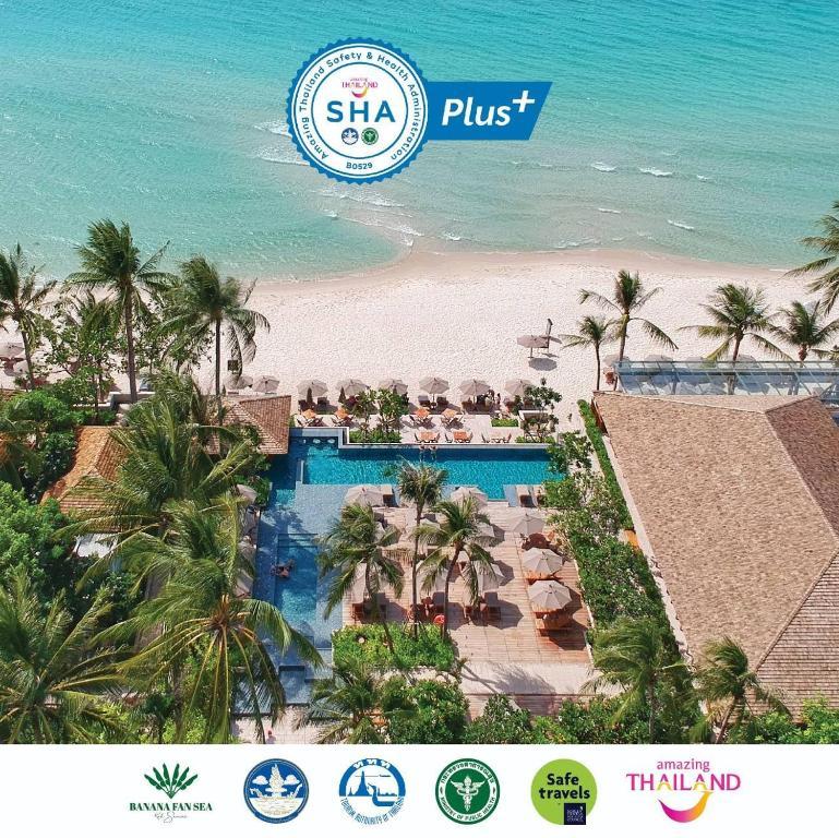 A bird's-eye view of Banana Fan Sea Resort - SHA Plus Certified