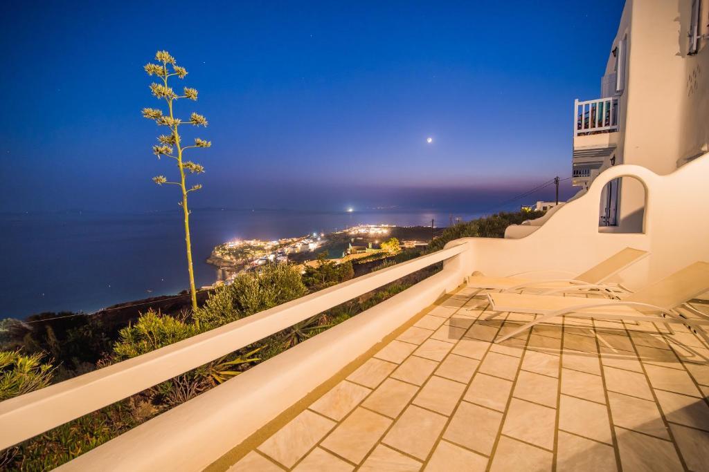 Balcon ou terrasse dans l'établissement Amazing View Hotel Apartments