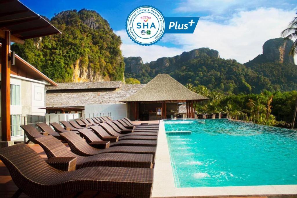 The swimming pool at or near Railay Princess Resort & Spa-SHA Plus