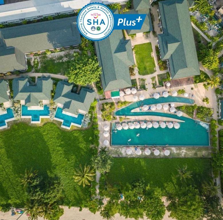 A bird's-eye view of PP Princess Resort- SHA Plus