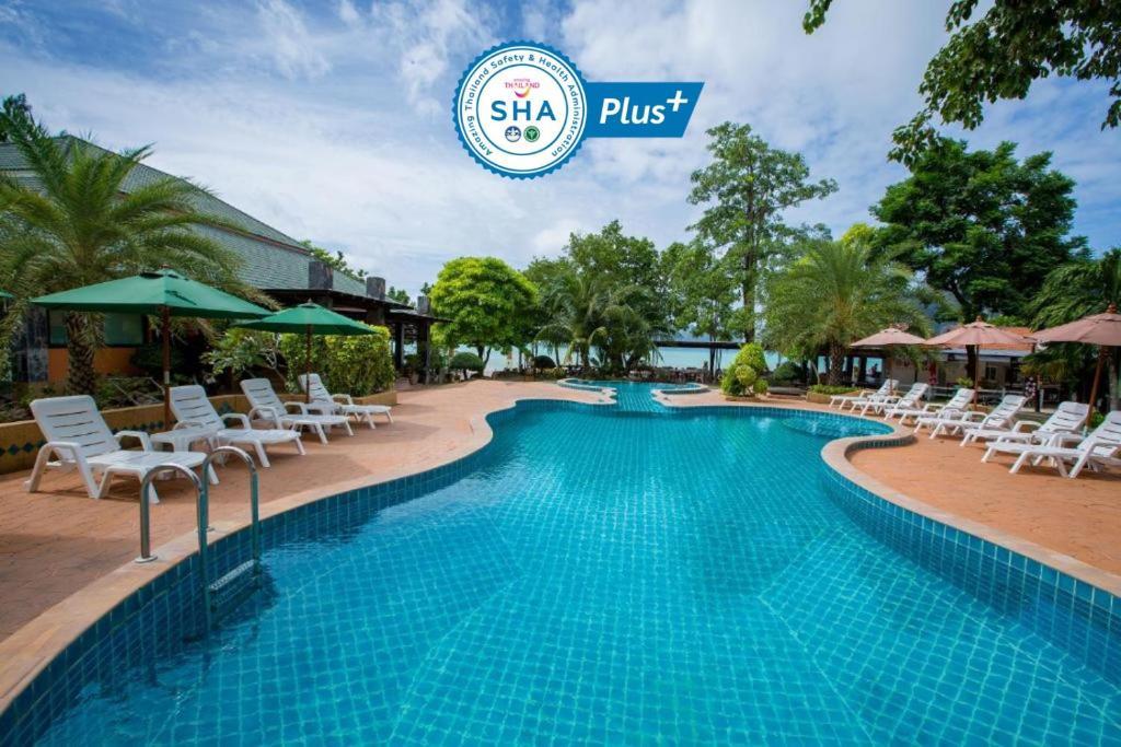 The swimming pool at or near Phi Phi Andaman Beach Resort-SHA Plus