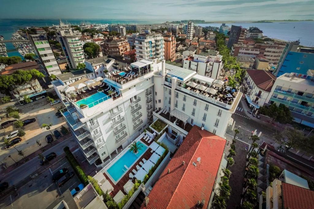 Letecký snímek ubytování Hotel Italia Palace