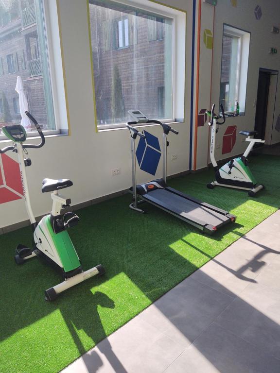 Centrum fitness w obiekcie Hotelik Mazurska Chata-BONY,restauracja, blisko aqapark, centrum,jezioro