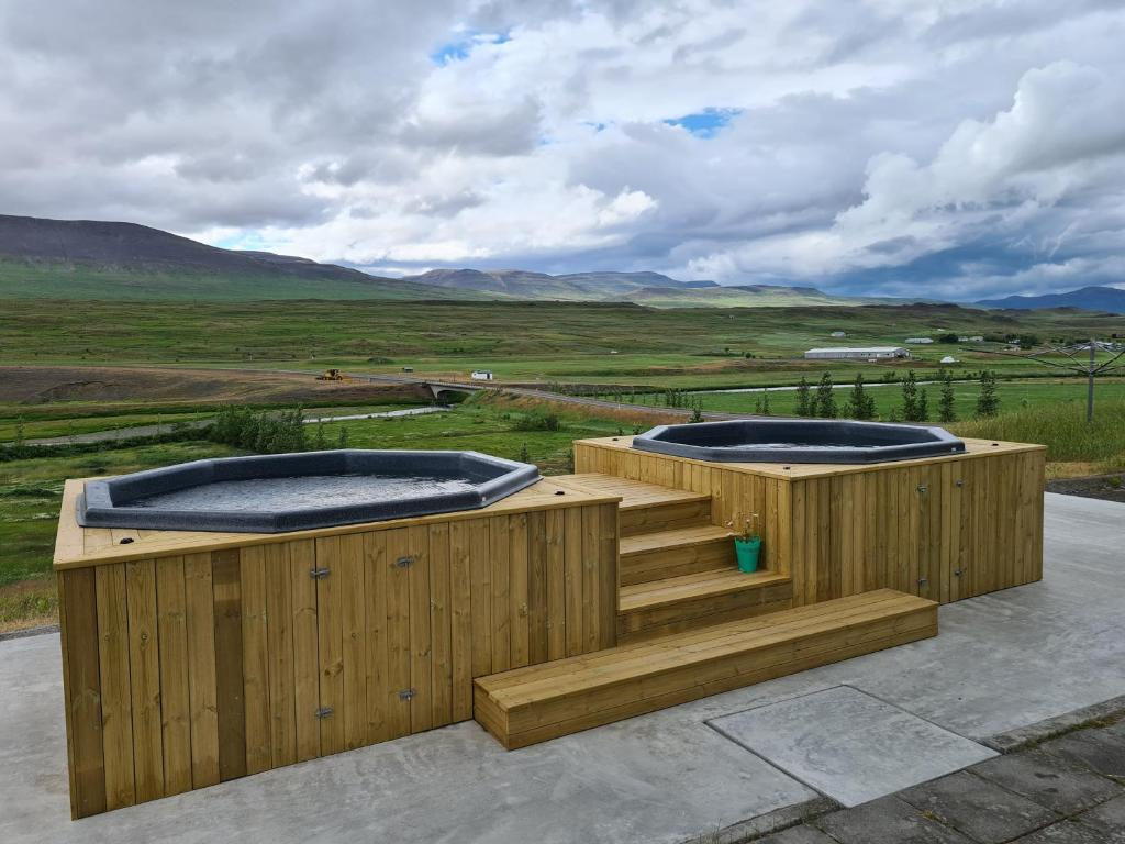 Spa and/or other wellness facilities at Hlín Guesthouse