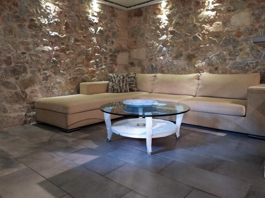 A seating area at Stone House
