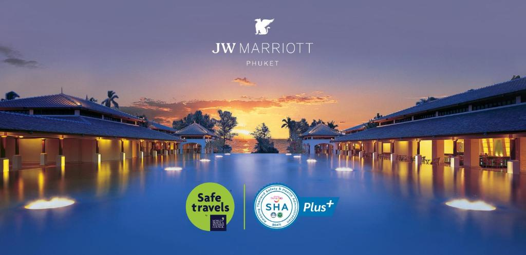 The swimming pool at or near JW Marriott Phuket Resort and Spa - SHA Plus