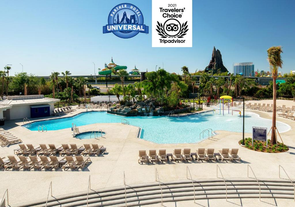 A view of the pool at Avanti Palms Resort And Conference Center or nearby