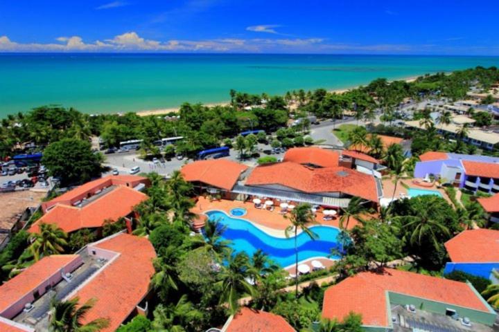 Uma vista aérea de Resort Arcobaleno All Inclusive