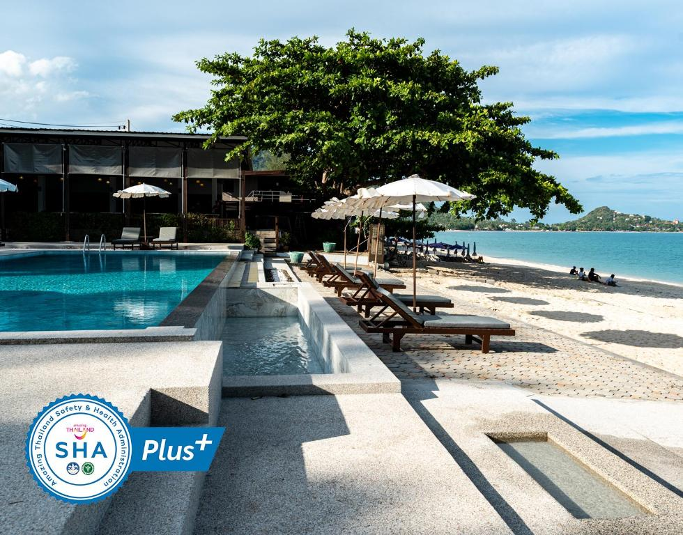 The swimming pool at or near The Hive Hotel - SHA Plus