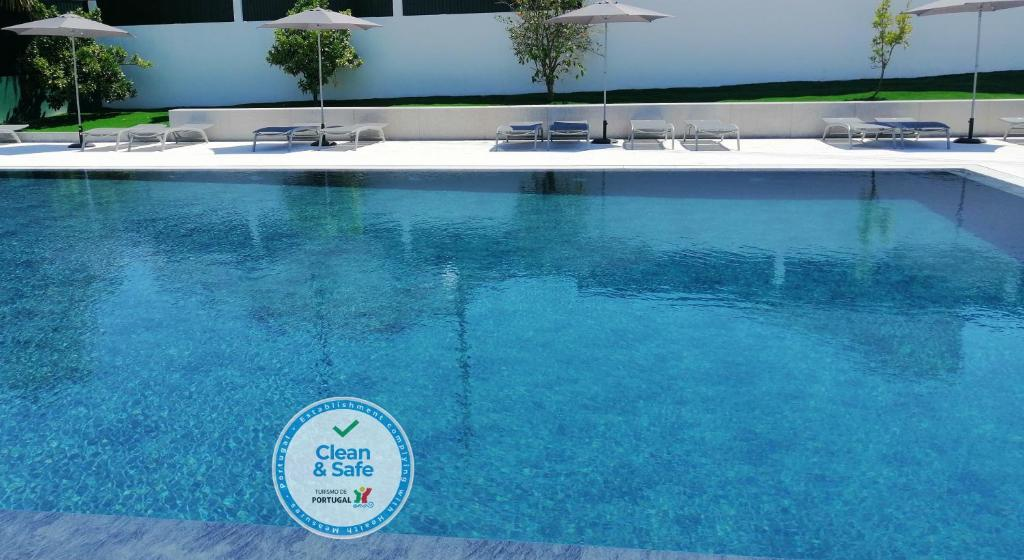 The swimming pool at or near Hotel Do Parque - Congress & SPA