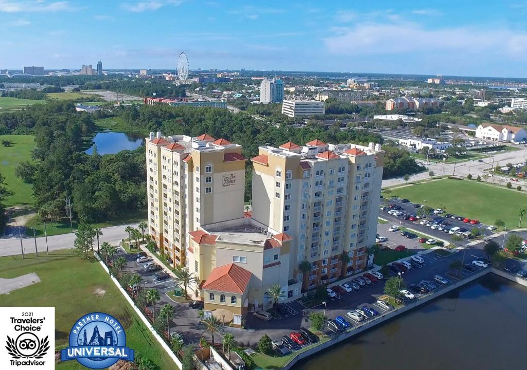 A bird's-eye view of The Point Hotel & Suites Universal
