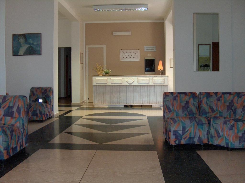 The lobby or reception area at Hotel Coppa di Cielo