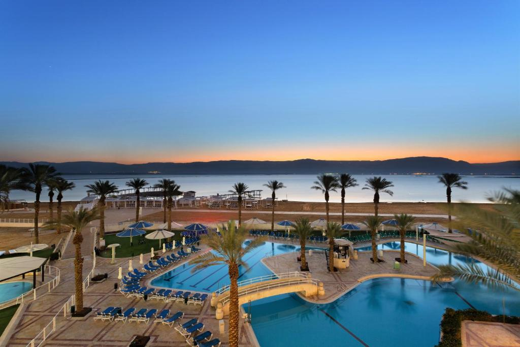 A view of the pool at Vert Dead Sea Hotel or nearby
