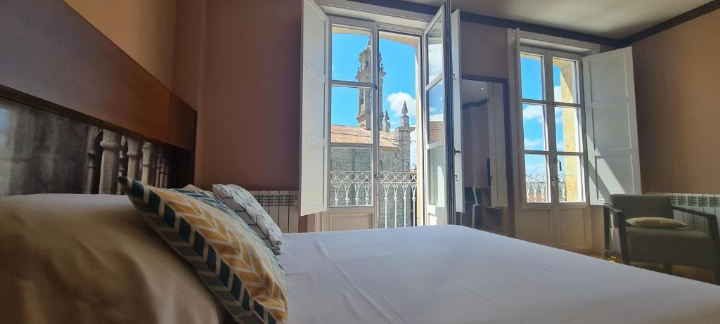 Cama o camas de una habitación en Hotel Boutique La Churra