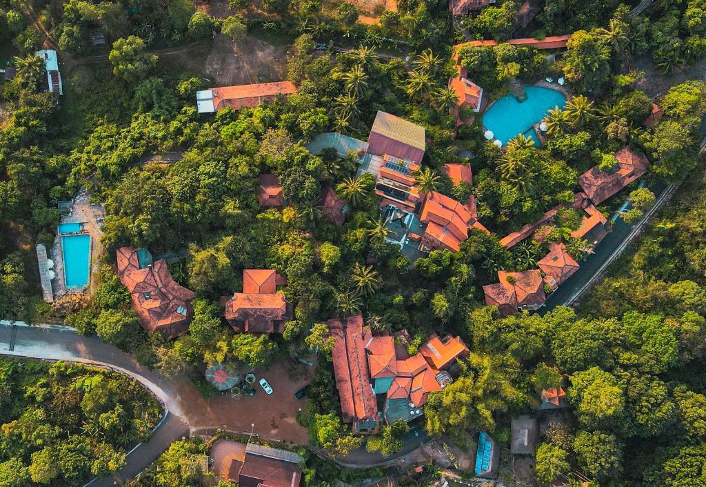A bird's-eye view of Veranda Natural Resort