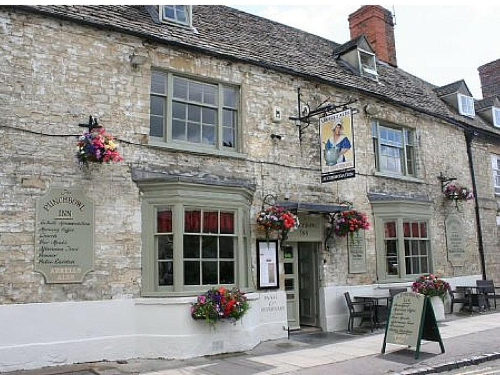 The Punchbowl Inn in Woodstock, Oxfordshire, England