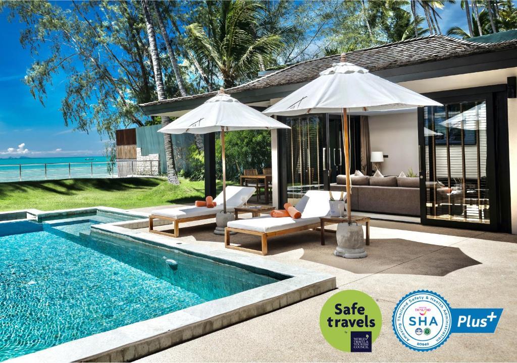The swimming pool at or near Nikki Beach Resort & Spa Koh Samui - SHA Plus