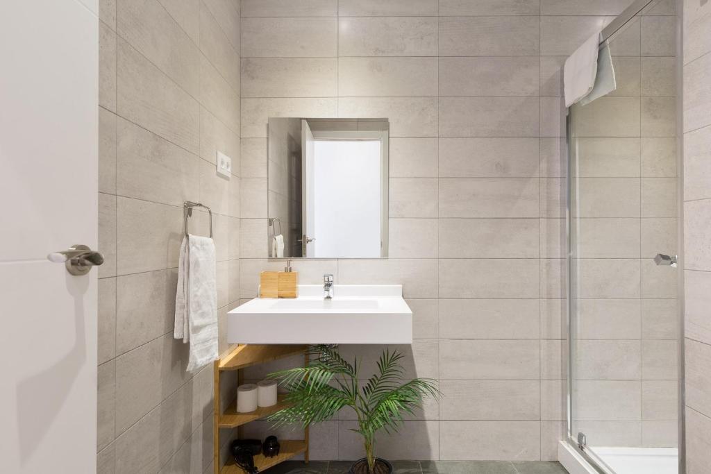 Un baño de Olala Urban Chill Apartments