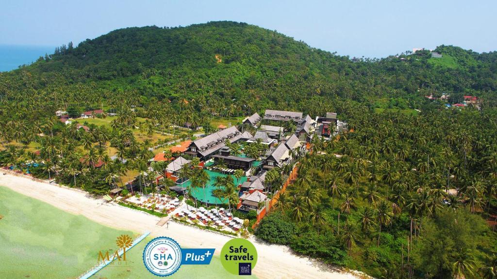 A bird's-eye view of Mai Samui Beach Resort & Spa - SHA Plus