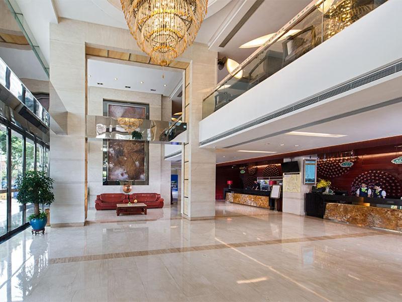 منطقة الاستقبال أو اللوبي في Vienna Hotel - Guangzhou South Railway Station Branch