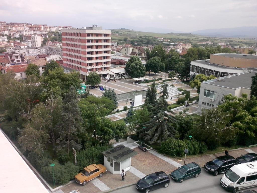 Гледка от птичи поглед на Family Hotel Ambrozia