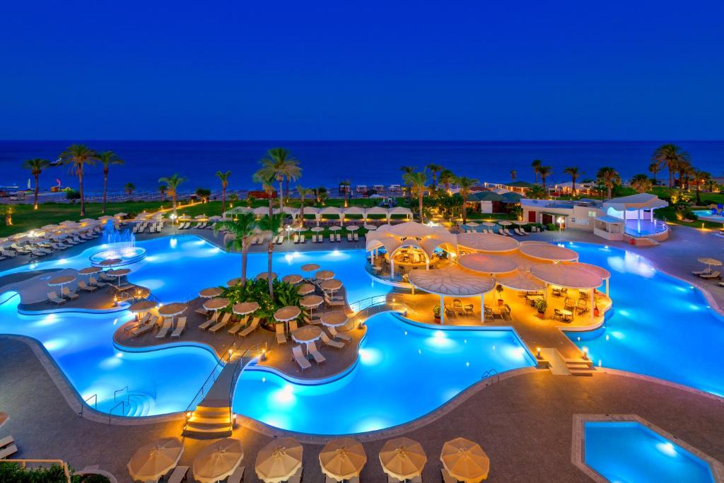 A view of the pool at Rodos Palladium Leisure & Wellness or nearby
