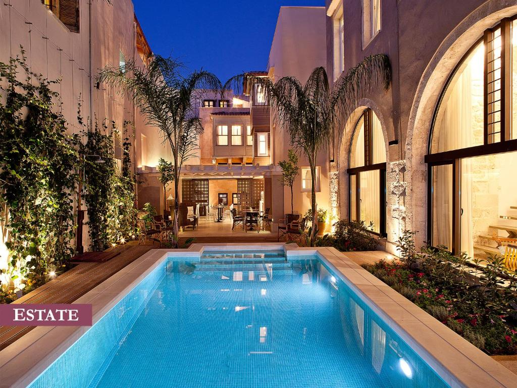 The swimming pool at or near Rimondi Boutique Hotel - Small Luxury Hotels of the World