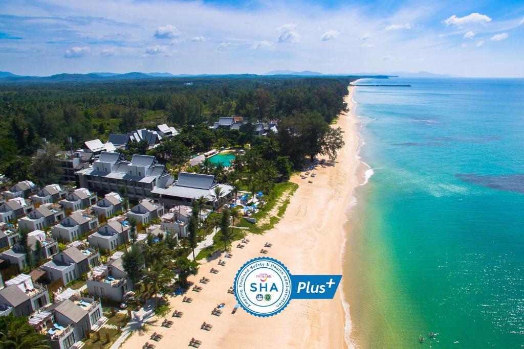 Natai Beach Resort and Spa - SHA Plus с высоты птичьего полета