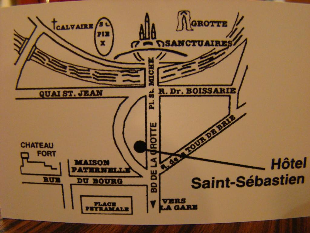 Hotel Saint Sebastien Lourdes, France