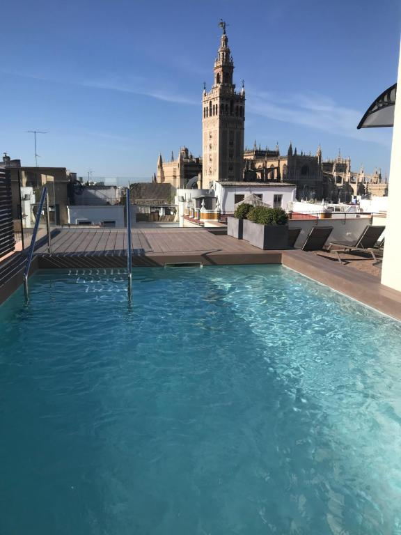The swimming pool at or near Joya del Casco Boutique Hotel by Shiadu