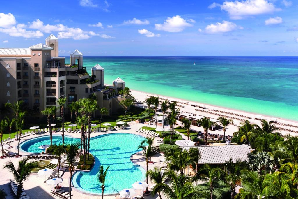 A view of the pool at The Ritz-Carlton, Grand Cayman or nearby