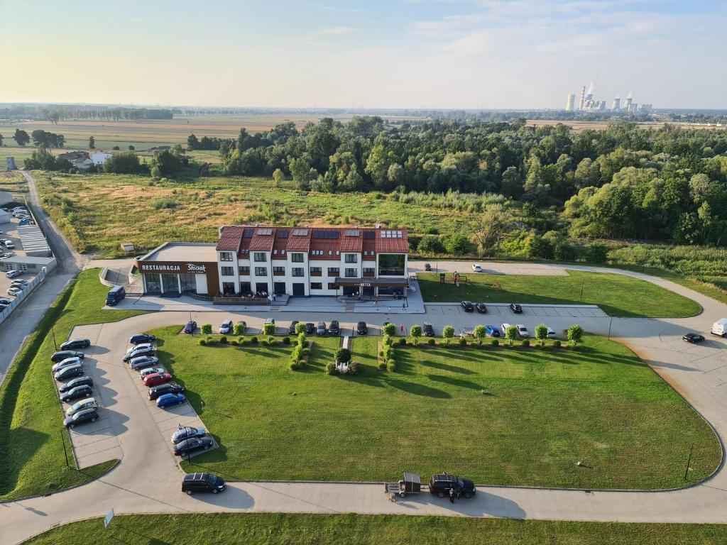 Widok z lotu ptaka na obiekt Hotel & Browar Słociak