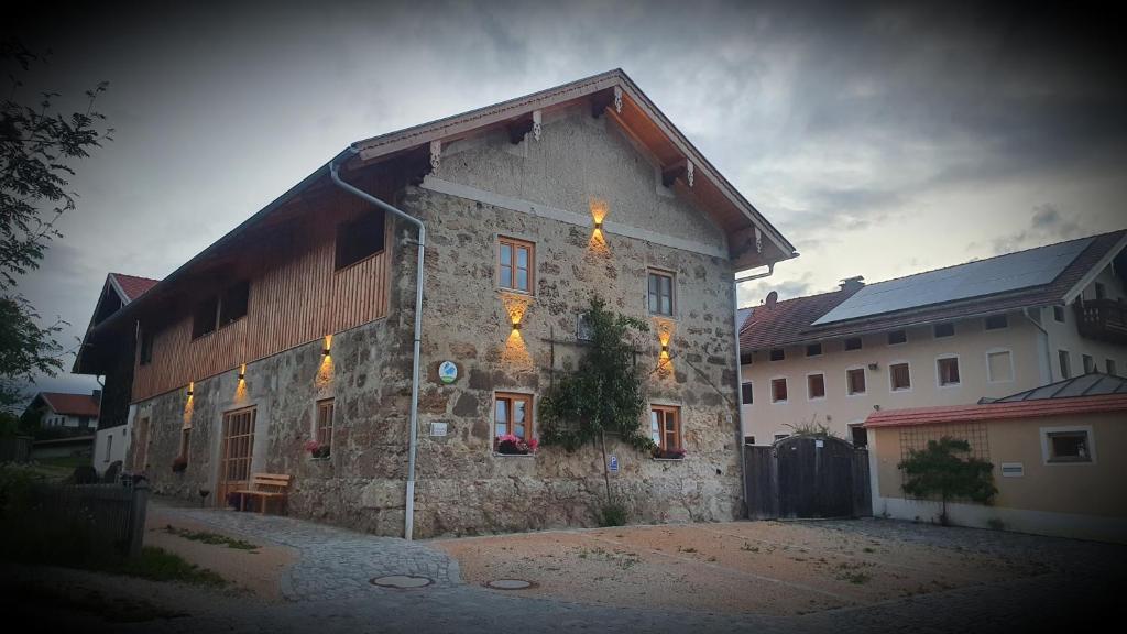 Landhof Schuhbeck im Winter