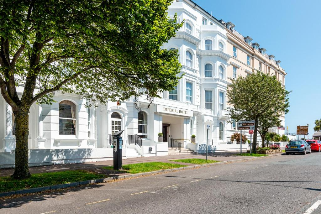 Imperial Hotel in Eastbourne, East Sussex, England