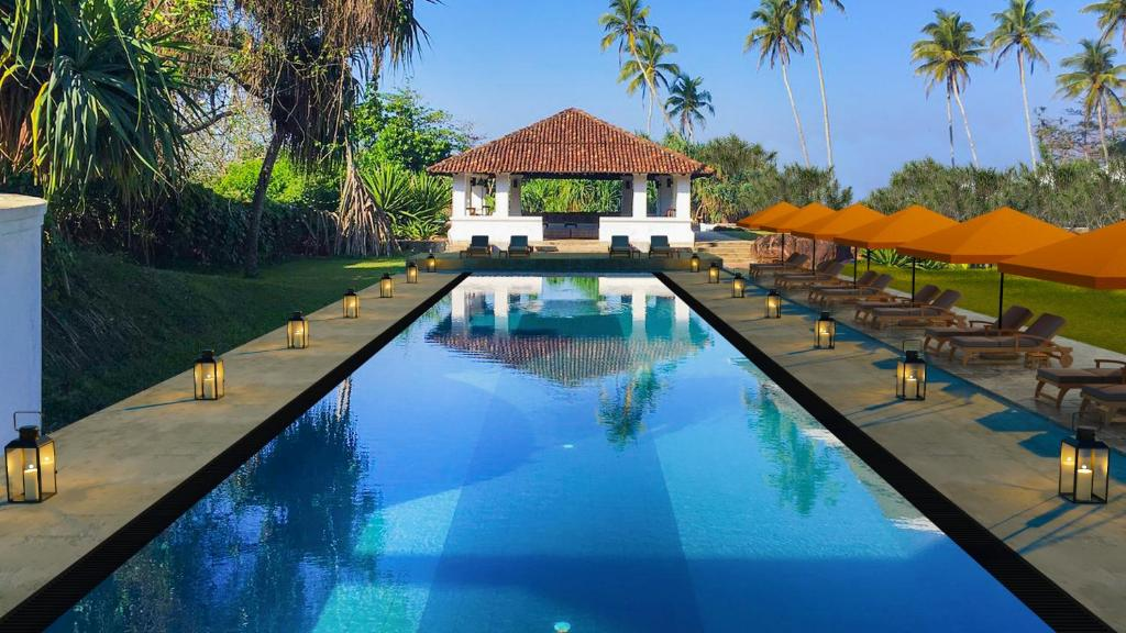 The swimming pool at or near The Villa Bentota by KK Collection