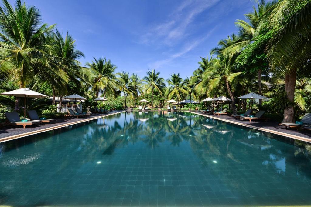 The swimming pool at or near Royal River Kwai Resort and Spa