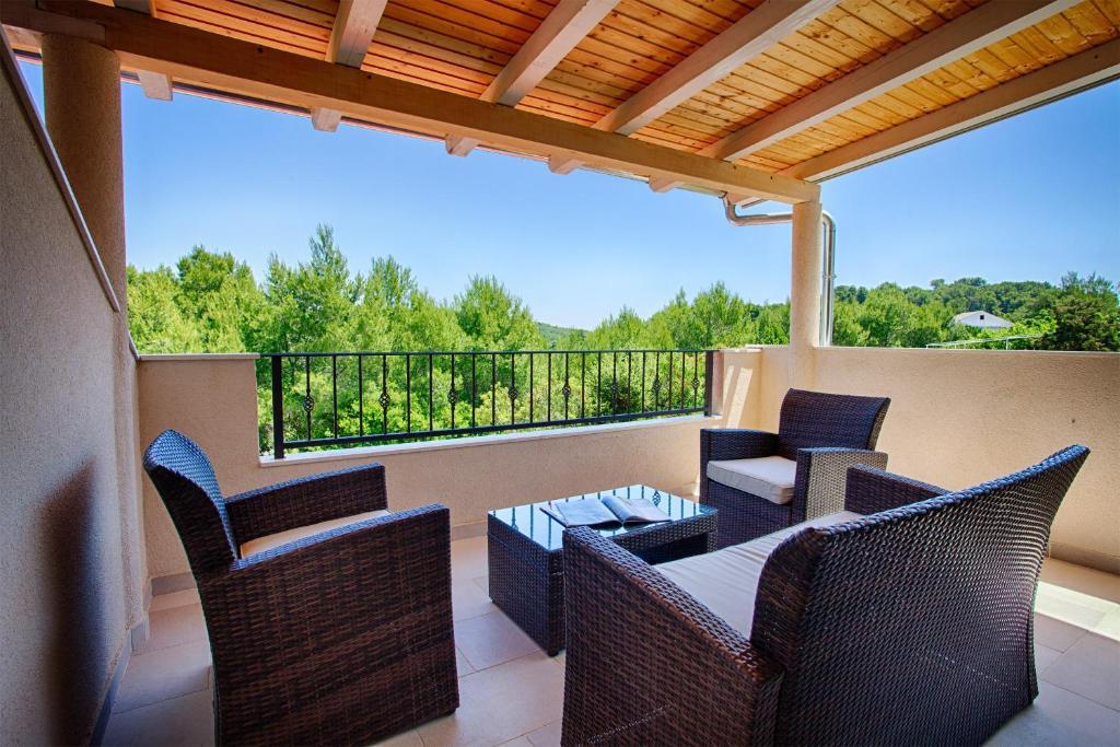 Balcone o terrazza di Apartments Dalia