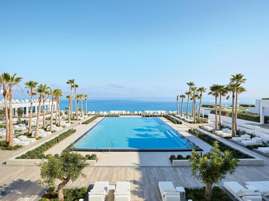 A view of the pool at Grecotel LUX.ME White Palace or nearby