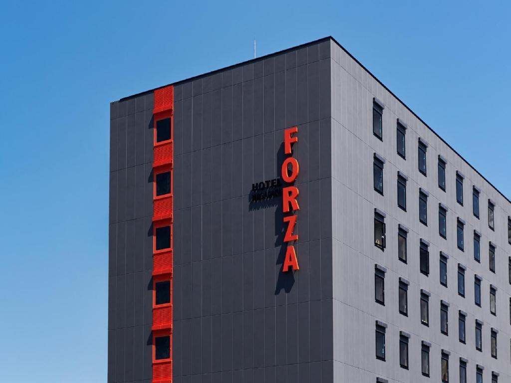 Logo atau tanda untuk hotel