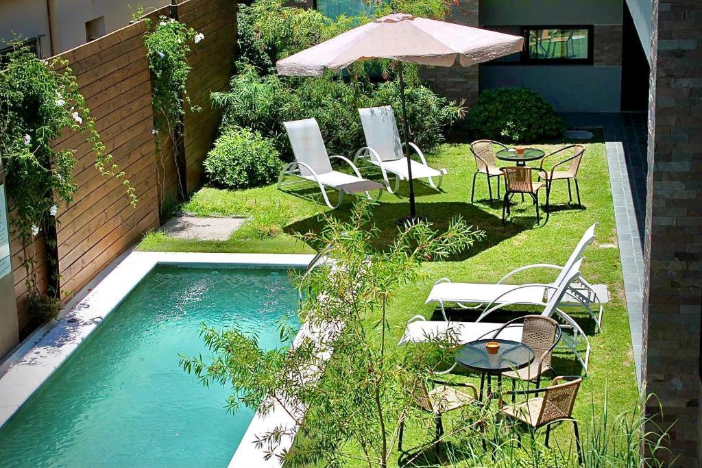 Vista de la piscina de Posada Boutique Las Terrazas o alrededores