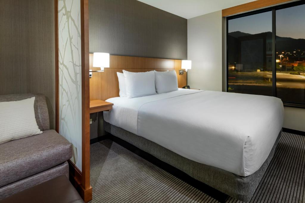 A room at the Hyatt Place Provo.