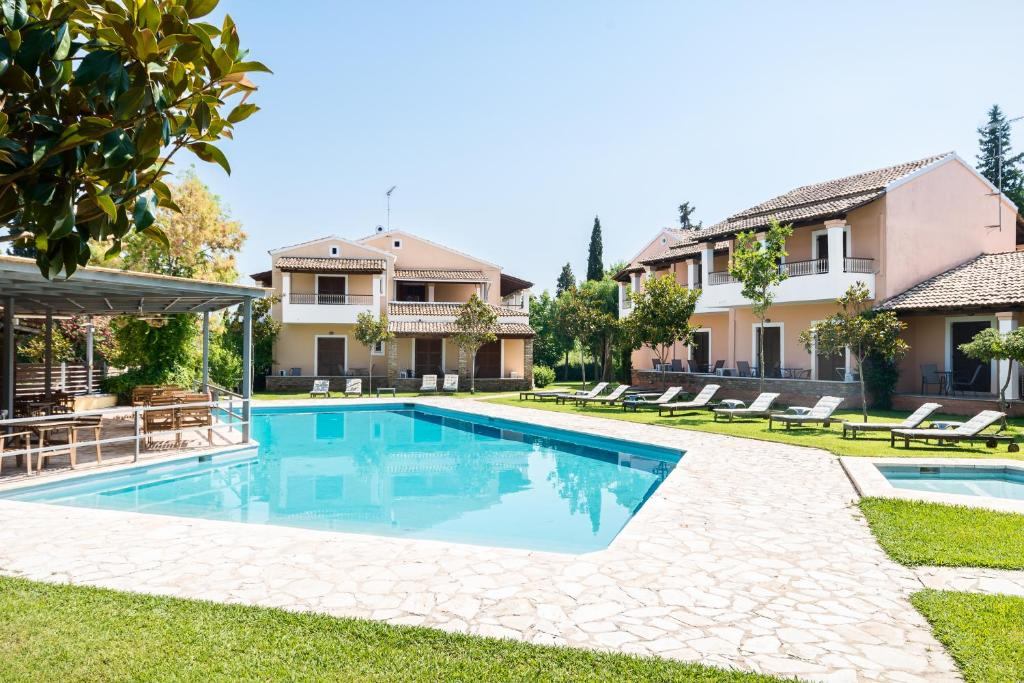 The swimming pool at or near Folies Corfu Town Hotel Apartments